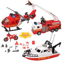 True Heroes Fire & Rescue playsets at Toys R Us