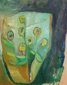 Seven Sunflowers Original oil painting on canvsa by BrookeWandall, $200.00