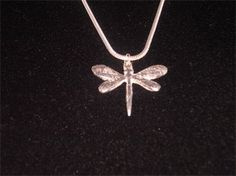 PURE SILVER DAINTY DRAGONFLY PENDANT - $105.00 #jewellery #pendant #pure silver #silver #dragonfly #handmade #handcrafted