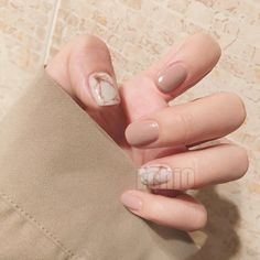 $3.9 - Artificial Nails Ink Painting Design Medium Nude Fake Press On Nail Tips Z734 #ebay #Fashion
