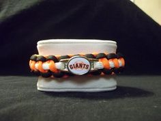 MLB Paracord Bracelet  San Francisco Giants by kgsparacordstore, $16.00