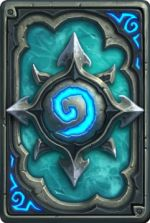 Hearthstone Heroes of Warcraft Icecrown Card Back