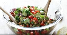 The best chickpea salad ever - Recipes - My Fork - The best chickpea salad ever – Recipes – My Fork - Cooking Chef, Cooking Recipes, Healthy Recipes, Summer Recipes, Fall Recipes, 17 Day Diet, Chickpea Salad Recipes, Smoothie Recipes, Breakfast Recipes