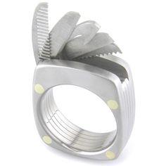 Titanium man ring