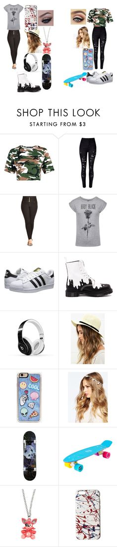 """""""Untitled #18"""" by asya-childress on Polyvore featuring City Chic, adidas Originals, Dr. Martens, Beats by Dr. Dre, LULUS, Zero Gravity, ASOS, Enjoi, Freddy and Marc Jacobs"""