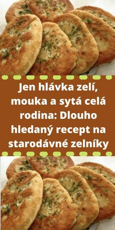 Czech Recipes, Ethnic Recipes, Bread Recipes, Cooking Recipes, Mini Cheesecakes, Home Baking, Bread And Pastries, Food 52, Sweet Potato