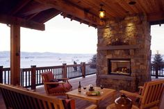 Outdoor living areas are my favorite