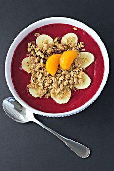 Mango, Beet and Banana Smoothie Bowl ~vegan, gf~