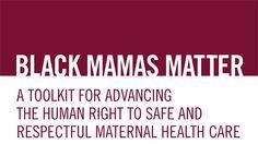 Black Mamas Matter Toolkit Sticker image