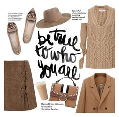 """""""Be true to who you are"""" by lux-life ❤ liked on Polyvore featuring Nellie Partow, Rupert Sanderson, Haute Hippie and Zimmermann"""