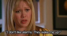"Having to become a morning person. | Community Post: 15 Ways ""Lizzie McGuire"" Captures Life In Your Twenties"