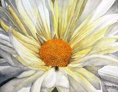 Title  Miss Daisy   Artist  William Clark   Medium  Painting - Watercolor