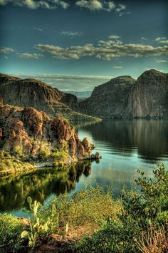 Glass Lake, Arizona, USA