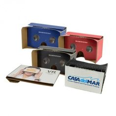 Look at the world from a different perspective. Logo virtual reality viewers available at Casa del Mar.  www.casadm.com #casadm #VRglasses #VRcardboard #PromoProducts #Promo #tradeshowgiveaway