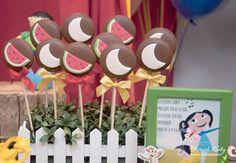 doces festa show da luna