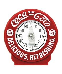 Look at this Coca-Cola Kitchen Timer on #zulily today!