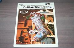 Better Homes & Gardens Holiday Workshop Heirloom Stocking Cross Stitch Pattern