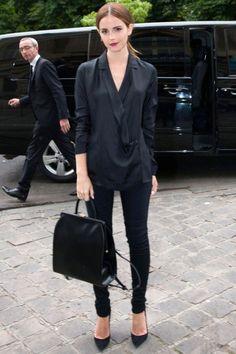Black Shirt outfits - ready to copy! #black #shirt #outfits #blackshirt #shirt