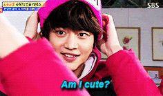 YES YOU ARE CUTE CHOI MINHO <3