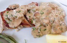 Kip met Boursin-champignonsaus  Uit de keuken van levine 12 juni 2012