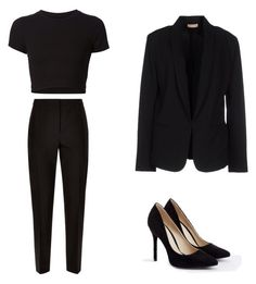 """Clasic"" by cucer98 on Polyvore featuring Jaeger, Getting Back To Square One, Maesta and JustFab"