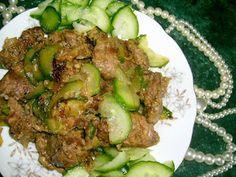 """W Mojej Kuchni Lubię..: wątróbka""""tzatziki"""" z ogórkiem wyśmienita w smaku....."""