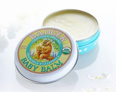 Organic Badger Baby Balm Ideal for a calming baby massage, try on nappy rash & cradle cap to help soothe & protect Natural Treatments, Natural Remedies, Badger Balm, Cradle Cap, Roman Chamomile, Beauty Treats, Baby Massage, The Perfect Touch, Beauty Shop