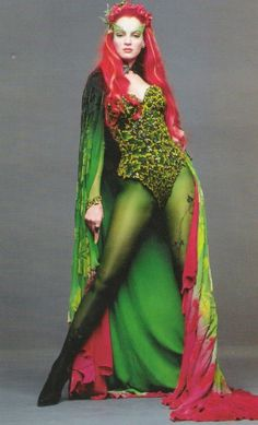 Poison Ivy Makeup Looks and Ideas
