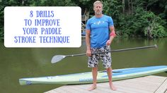 Larry Cain is a canadian sportsman who won the Olympic gold medal in sprint canoe in All the technique and science he has learnt over years of canoeing, he is now transferring to SUP. Paddle Board Surfing, Standup Paddle Board, Exercise Videos, Workout Videos, Canoeing, Kayaking, Sup Racing, Olympic Gold Medals, Sup Surf