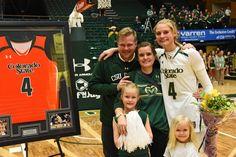 Congrats to the #ColoradoState women's basketball seniors! #FramedJersey #JerseyFraming