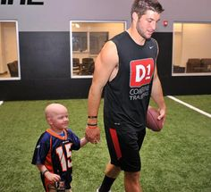 Tim Tebow and 4 year old leukemia patient