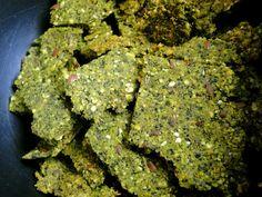 Seedy Kale Crackers. Vegan. From @sketchfreevegan