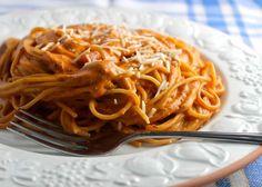 Creamy Tomato Pasta Adds Cream Cheese to Pasta Sauce for Fabulous Flavor: Creamy Tomato Pasta