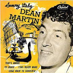 dean martin - 45tours- discographie - pochettes - french - 7'