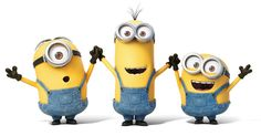 Stuart, Kevin and Bob, Minions