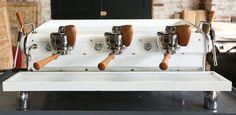 Ninety Plus Slayer espresso machine front view