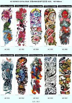 Wholesale Ac Series- 16x48cm Super Big Full Arm Sleeve Tattoo Temporary Type Fake Body Large Tattoo Photo, Detailed about Wholesale Ac Series- 16x48cm Super Big Full Arm Sleeve Tattoo Temporary Type Fake Body Large Tattoo Picture on Alibaba.com.