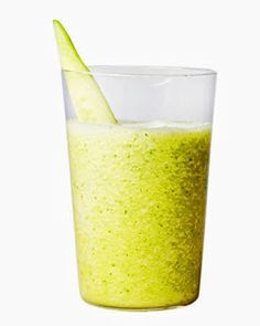 Cucumber Honeydew Smoothie - 1 English cucumber chopped - 1/2 honeydew ...