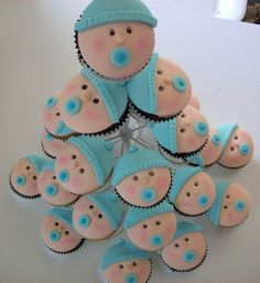 baby shower cakes for a boy | baby-shower-boy-girl-cakes-cupcakes-mumbai-10 | Cakes and Cupcakes ...