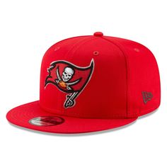 reputable site 082b2 6830f Men s Tampa Bay Buccaneers New Era Red Basic 9FIFTY Adjustable Snapback Hat,   27.99 Sports