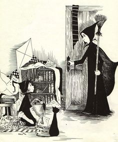 Dorrie the Little Witch by Patricia Coombs - one of my favorite books when I was a kid