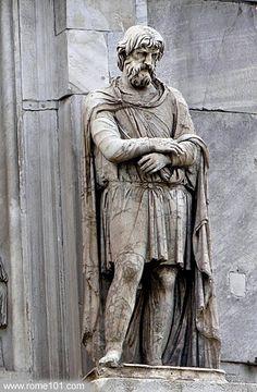 Dac-Arch of Constantine(Rome)
