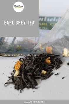 #earlgreytea #earlgreytee #teemitbergamotte Earl Grey Tee, Earl Gray, Grey Tea, Food, Sachets, Black, Meal, Essen, Hoods