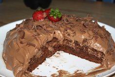 Tussa E-post :: Her er noen Pins vi tror du vil like Keto Chocolate Chip Cookies, Chocolate Cake, Scandinavian Food, No Bake Snacks, Something Sweet, Yummy Cakes, Baking Recipes, Good Food, Food And Drink