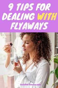 Need some tips for dealing with flyaways? These beauty hacks will help you get rid of those pesky little hairs! Long Hair Tips, Grow Long Hair, Easy Hairstyles For Long Hair, Pretty Hairstyles, Healthy Hair Tips, Healthy Hair Growth, Hair Growth Tips, Vitamins For Hair Growth, Hair Vitamins
