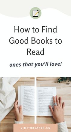 Learn how to find the best books to read, one that you will love in this step by step article. We share 3 methods you can use no matter if you've been reading for years, or are just getting started. Great Books To Read, Good Books, What Is An Empath, Get Reading, Types Of Books, Quick Reads, Highly Sensitive, Book Summaries, What To Read