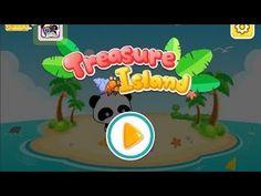 Treasure Island - Panda Games   Activity App for Toddlers