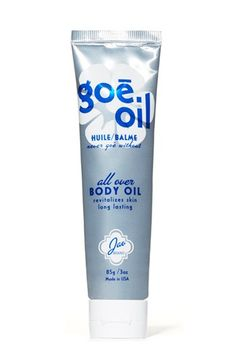 Lighter than body butter and longer-lasting than moisturizer, Jao's renowned Goe™ body oil is a semi-solid, all-natural miracle balm that ke...