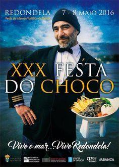 Festa do Choco. Redondela 7-8 Mayo 2016 #Redondela  Hotelgranproa.com