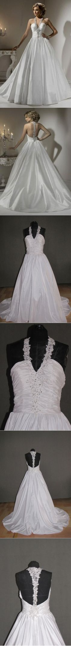 Informal Small Bridal Gowns Understated Diamonds No Back Weddings Courthouse…